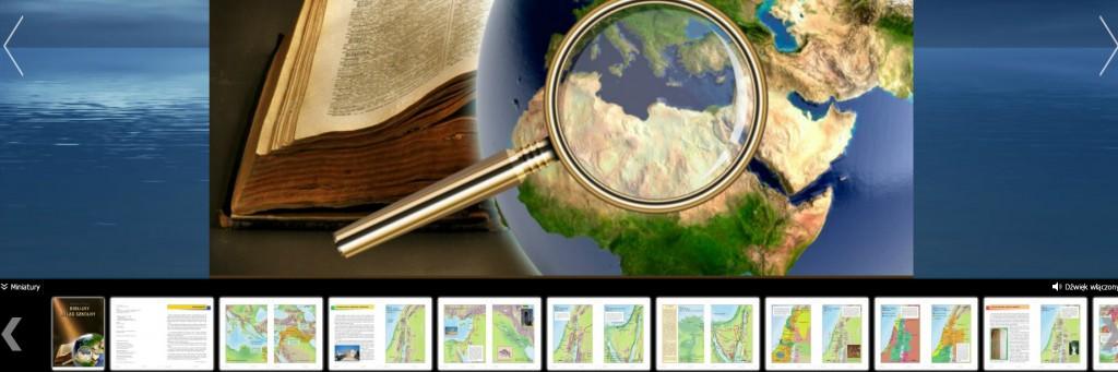 biblia, atlas szkolny, mapy biblijne, ebook, edukacja, katecheza, religia w szkole